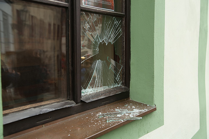 A2B Glass are able to board up broken windows while they are being repaired in Paddington.